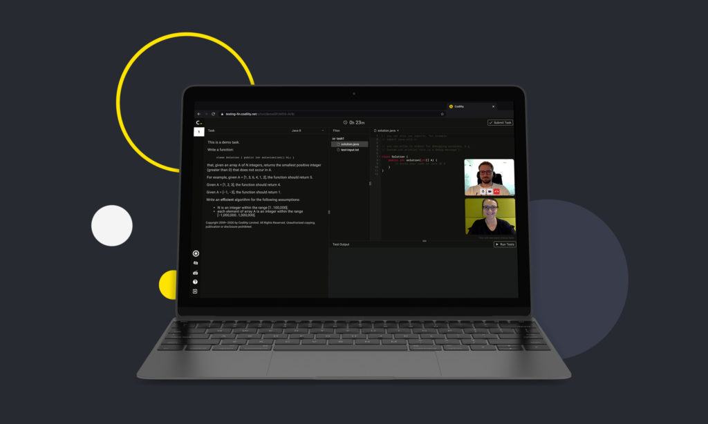 Coding assessments and remote technical interviews